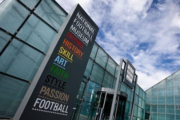Muzeum Piłki Nożnej wManchesterze
