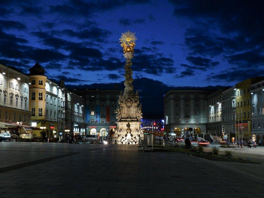 Hauptplatz Rynek Główny w Linz