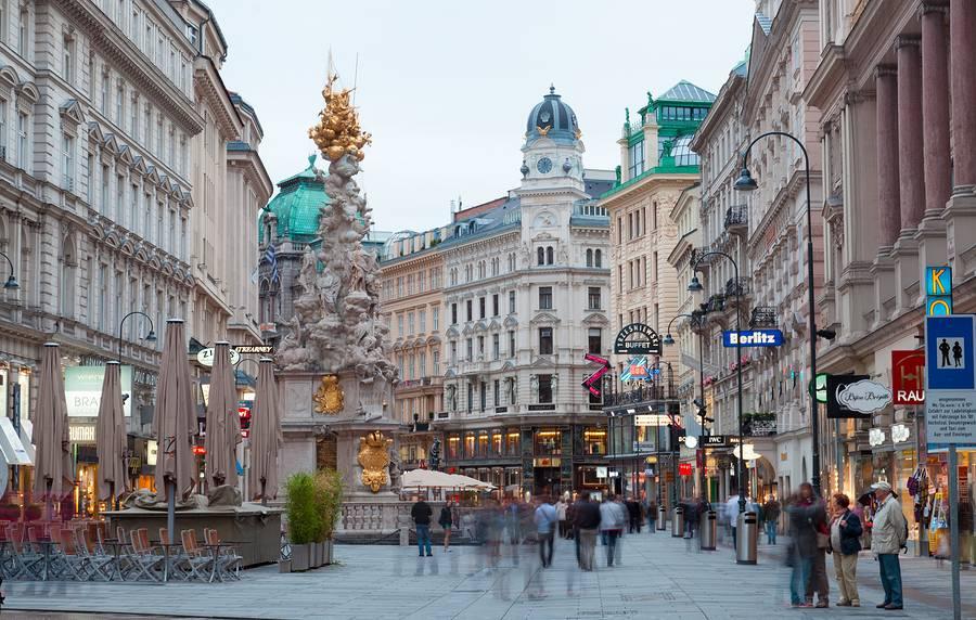 Plac Graben w Wiedniu
