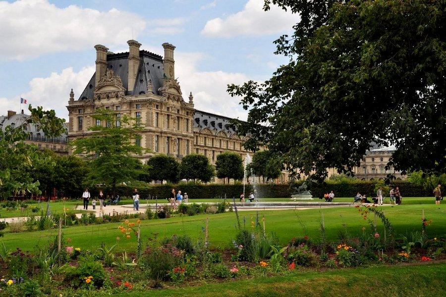 Ogrody Tuileries, Paryż
