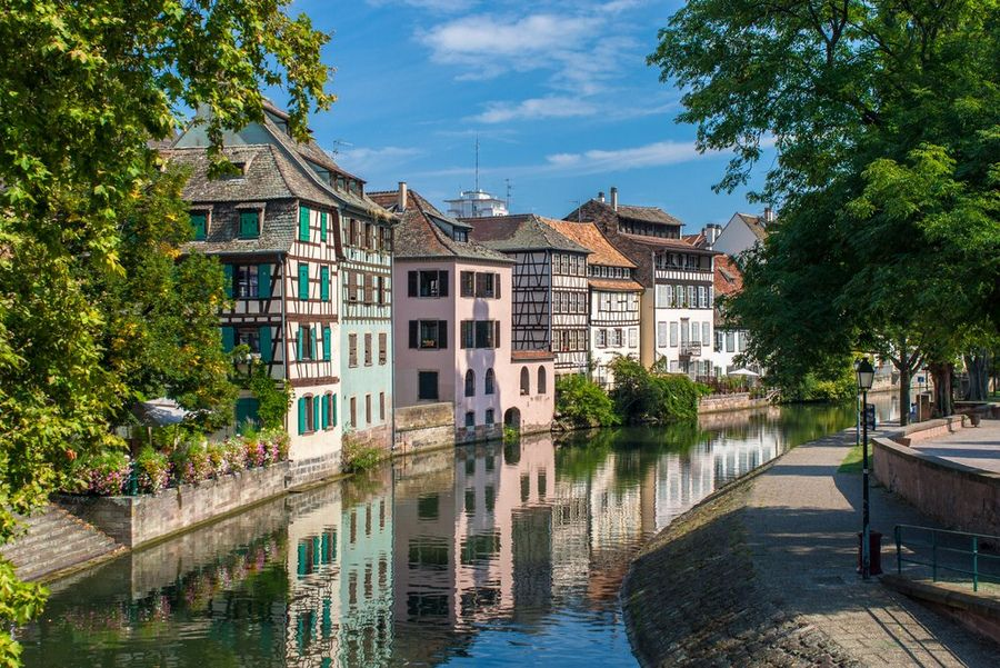 Kanał i Grande Ile, Sztrasburg