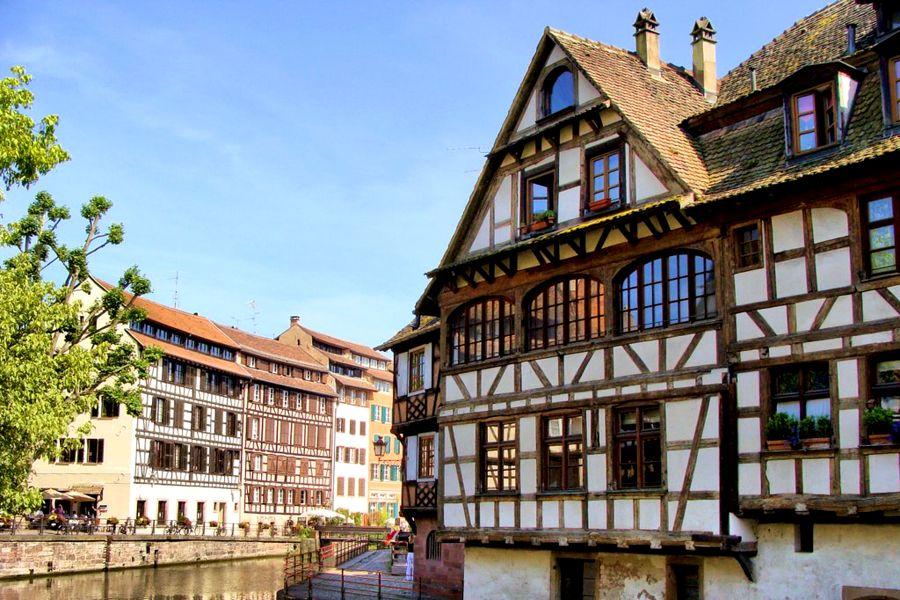 Dzielnica Petite France wSztrasburgu