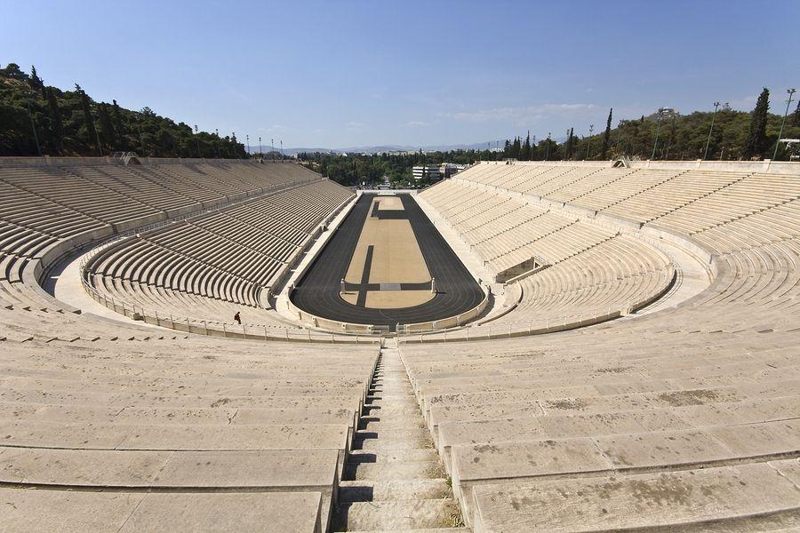 Kalimarmaro, Stadion Panateński, Ateny