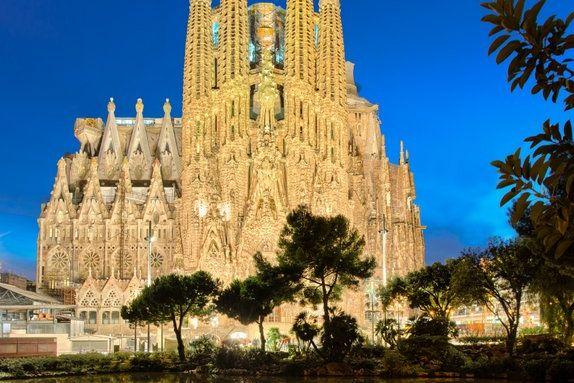 Kościół Sagrada Familia w Barcelonie