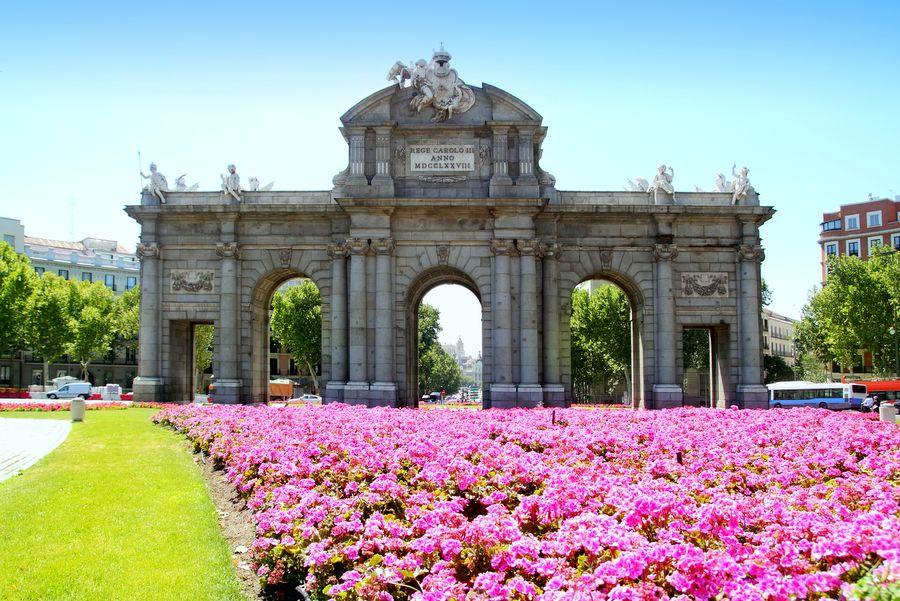 Puerta de Alcala wMadrycie