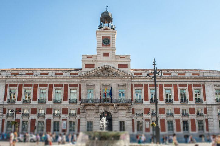 Puerta del Sol wMadrycie