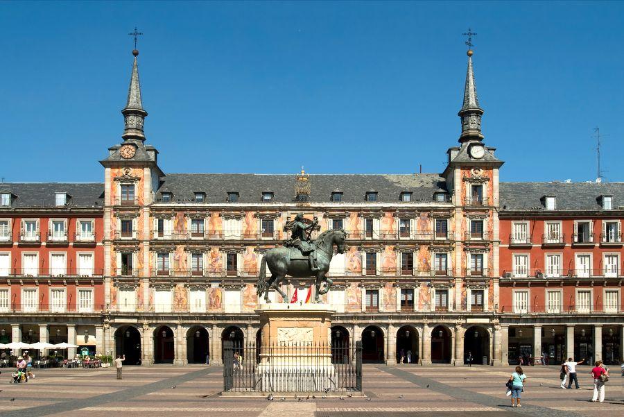 Plaza Major wMadrycie