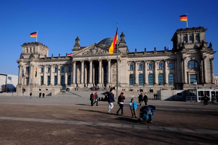 Reichstag, budynek parlamentu w Berlinie